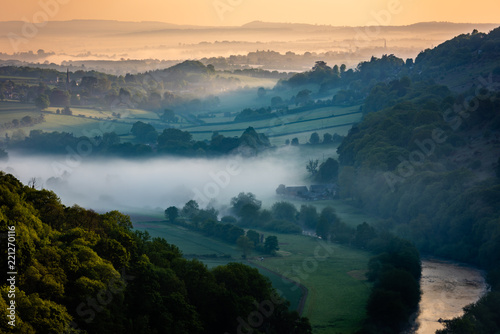 Early Morning in the Wye Valley