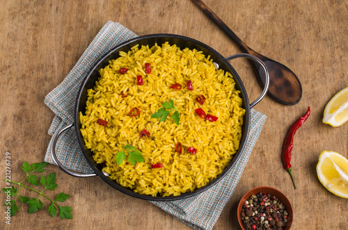 Traditional spicy rice