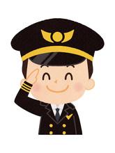 パイロット 男性