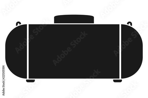 Propane Gas Tank icon Fototapet