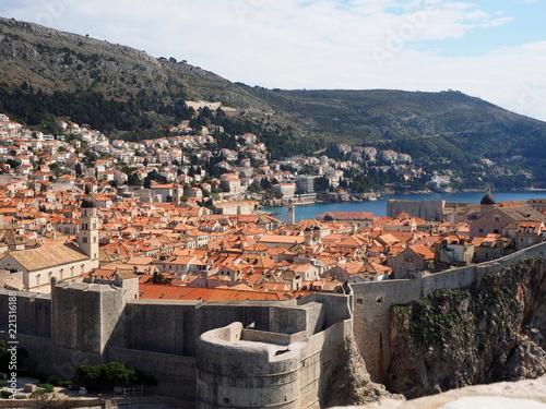 Deurstickers Centraal Europa Dubrovnik Croatia