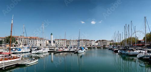 Fotobehang Poort view of the port of La Rochelle in France