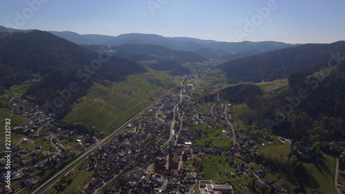 Aerial shoot in Germany, Kappelrodeck