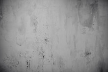 Stucco White Wall Abstract Texture Background Cement