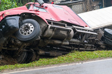Accident On Mountainous Road, ...
