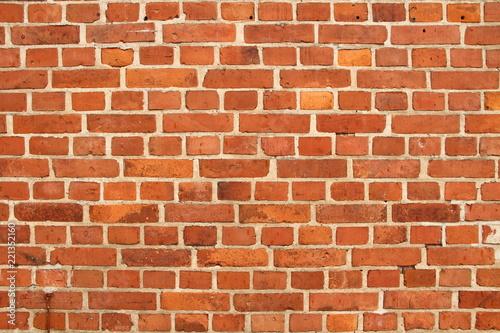 Photo sur Toile Brick wall alte Backsteinwand 2