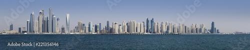 Skyline of Dubai, United Arab Emirates