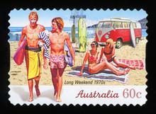AUSTRALIA - CIRCA 2010: A Stam...