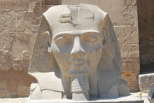 Ramesses II Statue At The Luxor Temple
