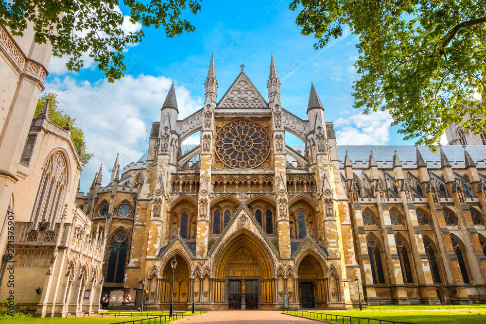 Fototapety, obrazy: Westminster Abbey Church in London, UK