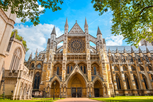 Photo sur Toile Edifice religieux Westminster Abbey Church in London, UK