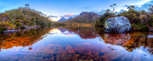 A Very Still Evening Over The Iconic Cradle Mountain