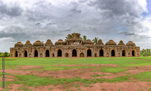 is an ancient monument in the Group of Monuments at Hampi, is a UNESCO World Heritage Site located in east-central Karnataka, India.