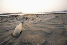 Miramar Beach Landscape In Panjim North Goa
