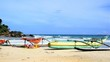 catamarans on the beach