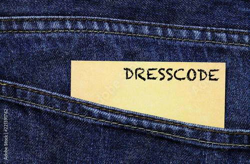 Cuadros en Lienzo Dresscode