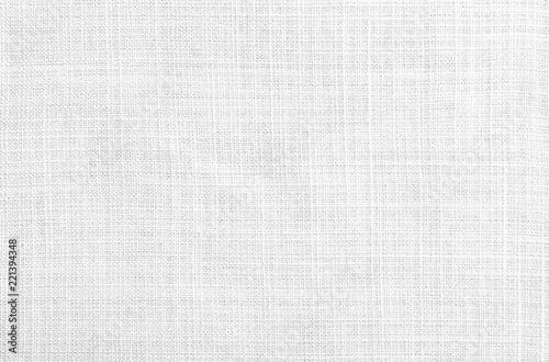 Fototapeta Close up white Chinese linen fabric texture background