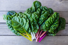 Organic Rainbow Chard: Spray-f...