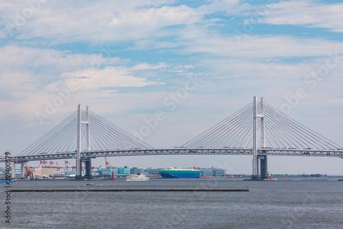 Staande foto Rotterdam (神奈川県ー都市風景)横浜大桟橋から見る風景3