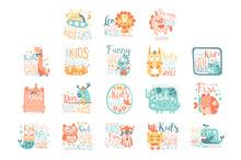 Modern Logo Design For Kids Wi...
