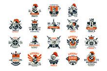 Medieval Logo Design Set, Midd...