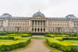 Exterior view of the Royal Palace of Brussels