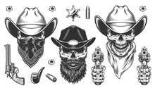 Set Of Cowboys