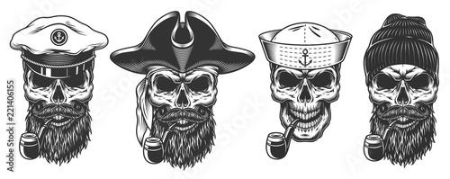 Fotografie, Obraz Set of sailors.