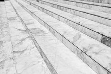Empty Marble Stair - Outdoor Modern Architecture