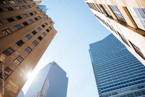 Staande foto Verenigde Staten New york city buildings view