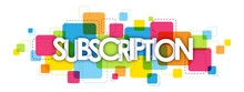 SUBSCRIPTION Letters Banner