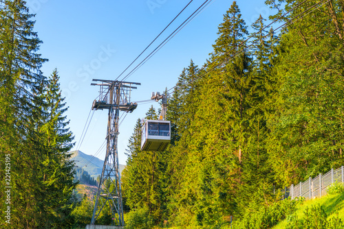 cabin cable car to Kasprowy Wierch, Poland