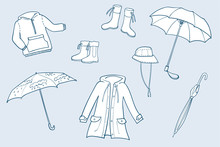Rainy Weather Clothes Set Of I...