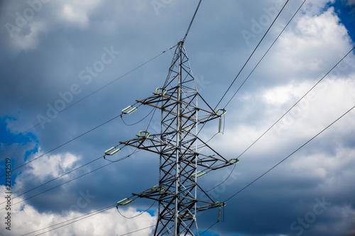 Foto  High voltage post