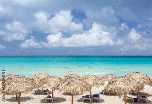 Fotografia  Famous Beach in Cuba