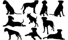 Boxer Dog Dog Svg Files Cricut...