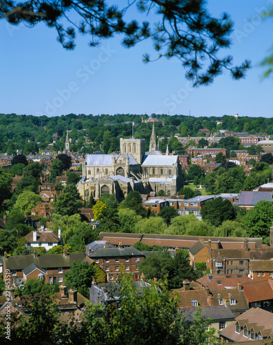 Photo WINCHESTER CATHEDRAL HAMPSHIRE ENGLAND
