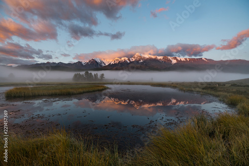 Nature of Altai mountains