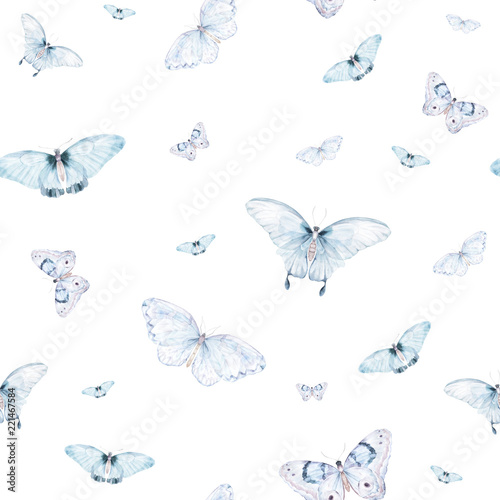 akwarela-bezszwowe-wzor-vintage-motyl-recznie-rysowane-ilustracji