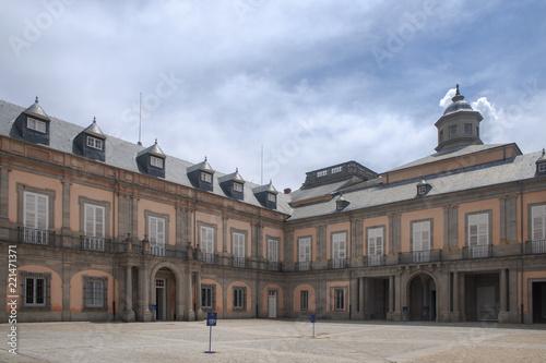 Foto  Jardines y palacio de la real granja de San idelfonso, España