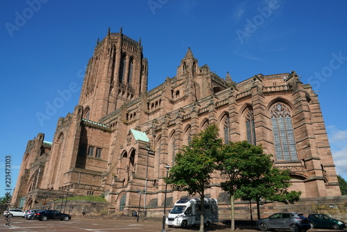 Cadres-photo bureau Palerme Liverpool Cathedral view in sunny September day