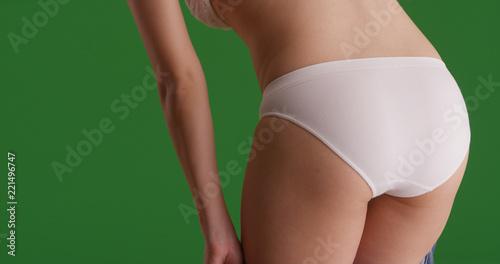 Women Bending Over Showing Panties Png