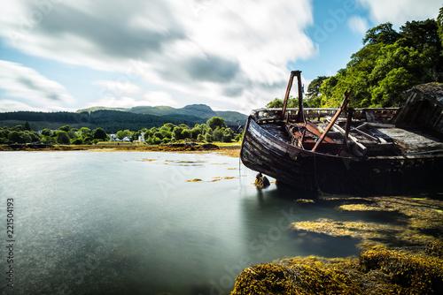 Cuadros en Lienzo shipwreck on mull