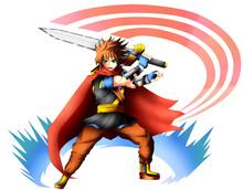Hero Swordsman Jacob Fire-heart.