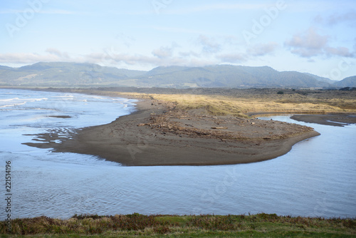 Fotografie, Obraz  View of calm water and peninsula