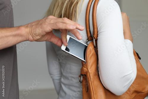 Valokuva Taschendiebstahl Handy