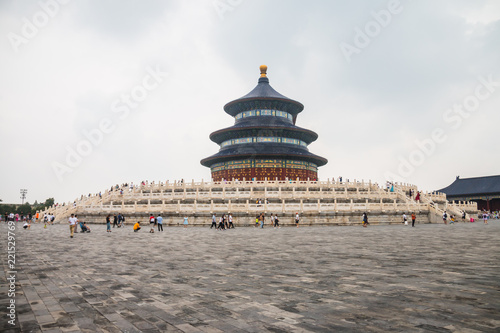 Tuinposter Peking Temple of Heaven in Beijing, China