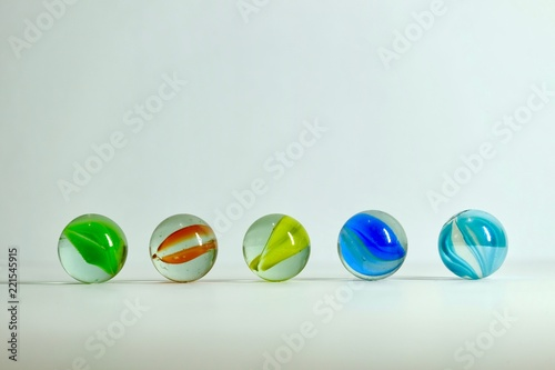 small glass Marbles