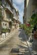 Gasse in Korfu Stadt Griechenland