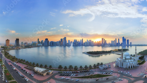 sharjah-sunset
